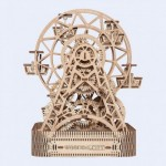 Wooden-City-WR306-8053 Wooden 3D Puzzle - Ferris Wheel