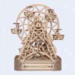Wooden-City-WR306-8053 Wooden 3D Puzzle - Ferris Wheel