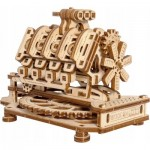 Wooden-City-WR316-8183 3D Wooden Jigsaw Puzzle - V8 Engine