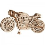 Wooden-City-WR340-8893 3D Wooden Jigsaw Puzzle - Cafe Racer