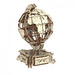 Wooden-City-WR341-8909 3D Wooden Jigsaw Puzzle - World Globe