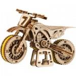 Wooden-City-WR343 3D Wooden Jigsaw Puzzle - Motocross