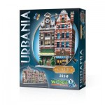 Wrebbit-3D-0503 3D Puzzle - Urbania Collection - Café