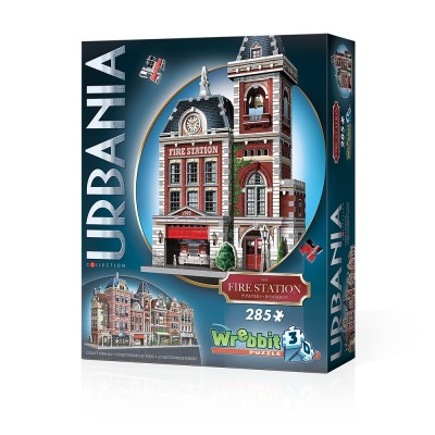 Wrebbit-3D-0505 3D Puzzle - Urbania Collection - Fire Station