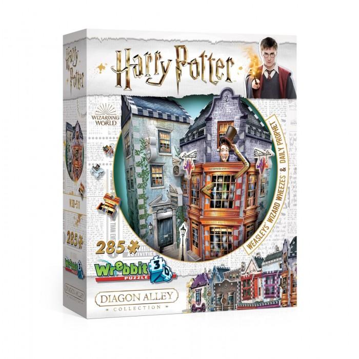 3D Puzzle - Harry Potter (TM) - Weasleys' Wizard Wheezes & Daily Prophet