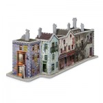 Wrebbit-3D-1010 3D Jigsaw Puzzle - Harry Potter (TM): Diagon Alley