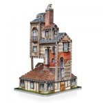 Wrebbit-3D-1011 3D Puzzle - Harry Potter: The Burrow - Weasley Family Home