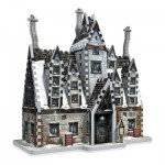 Wrebbit-3D-1012 3D Jigsaw Puzzle - Harry Potter (TM): Hogsmeade - The Three Broomsticks