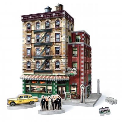 Wrebbit-3D-1015 3D Puzzle - Friends - Central Perk
