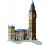 Puzzle  Wrebbit-3D-2002 Big Ben and House of Parliament