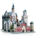 Wrebbit-3D-2005 3D Puzzle - Germany: Neuschwanstein Castle