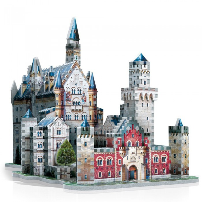 3D Puzzle - Germany: Neuschwanstein Castle