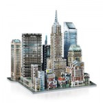 Wrebbit-3D-2011 3D Jigsaw Puzzle - New York Collection: Midtown East
