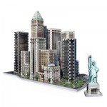 Wrebbit-3D-2013 3D Jigsaw Puzzle - New York Collection: Financial