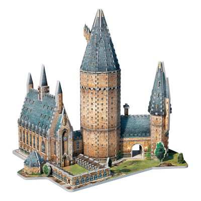 Wrebbit-3D-2014 3D Jigsaw Puzzle - Harry Potter: PoudlardTM - Great Hall
