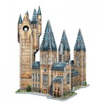 Wrebbit-3D-2015 3D Jigsaw Puzzle - Harry Potter (TM): Poudlard - Astronomy Tower