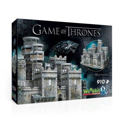 Wrebbit-3D-2018 3D Puzzle - Game of Thrones - Winterfell