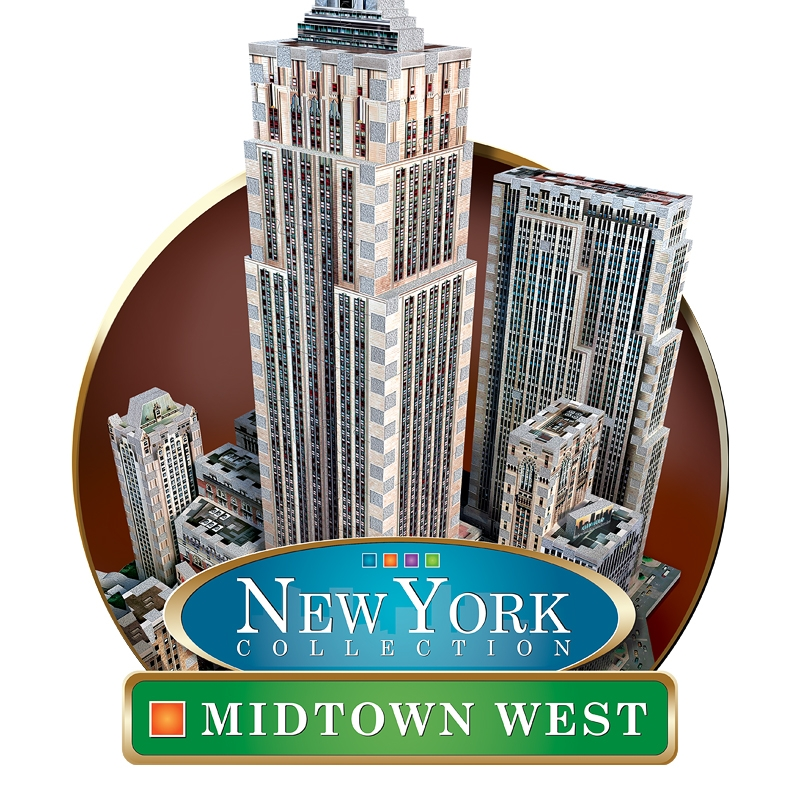 3D Jigsaw Puzzle - New York Collection: Midtown West ...