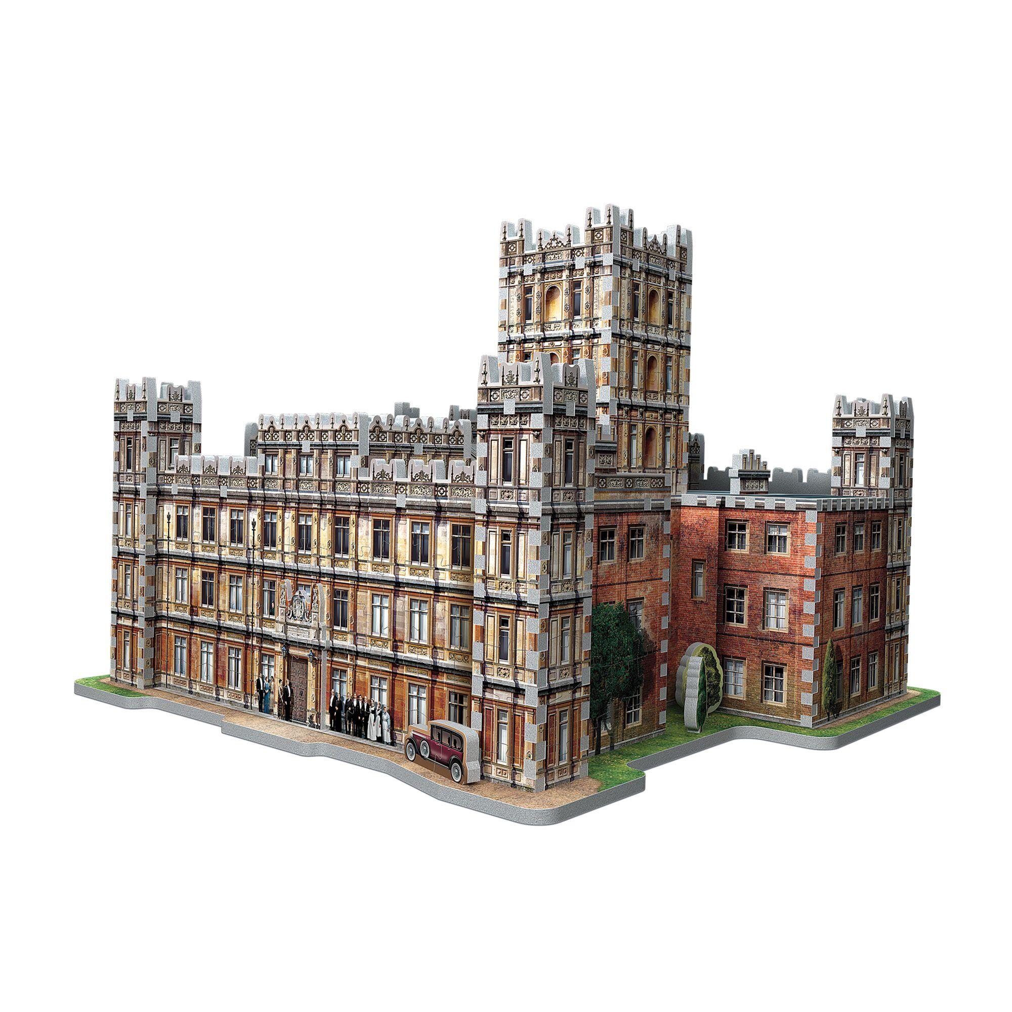 Downton Abbey Wrebbit-3D-2019 890 Pieces