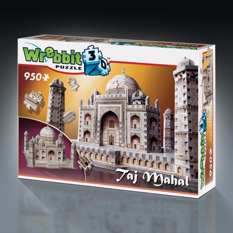 3D Puzzle India: Taj Mahal Wrebbit 3D