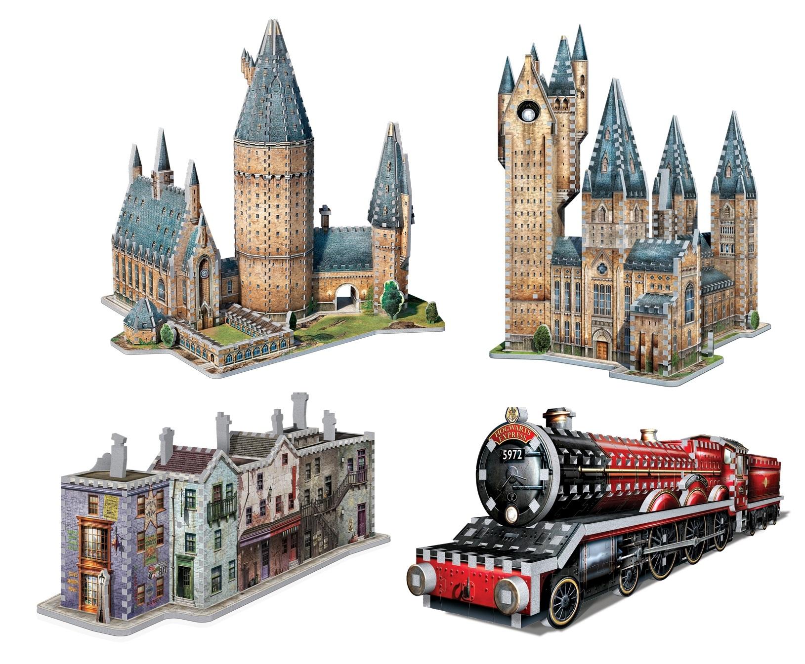 harry potter 3d puzzle