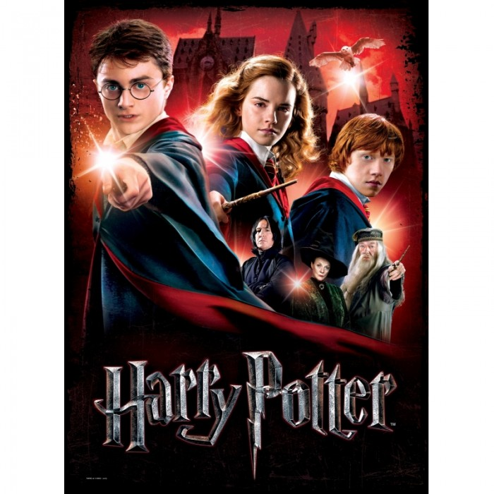 Poster Jigsaw Puzzle - Hogwarts School, Harry Potter