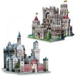 Wrebbit-Set-Castles 3 x 3D Puzzles - Set Castles