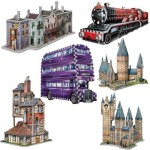 Wrebbit-Set-Harry-Potter-2 6 3D Jigsaw Puzzles - Harry Potter Set
