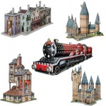 Wrebbit-Set-Harry-Potter-3 5 3D Jigsaw Puzzles - Harry Potter Set