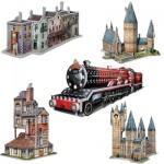Wrebbit-Set-Harry-Potter-3 5 3D Jigsaw Puzzles - Harry Potter Set