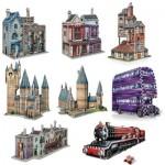 Wrebbit-Set-Harry-Potter-4 8 x 3D Puzzles - Set Harry Potter