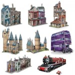 Wrebbit-Set-Harry-Potter-4 8 x 3D Puzzles - Set Harry Potter